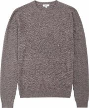 Avons Chevron Cable Knit Jumper