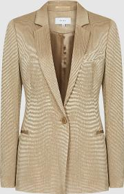 Ayla Jacket Textured Blazer