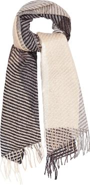 Bailey Lambswool Checked Scarf