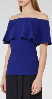 Balmer Off The Shoulder Top In  Womens