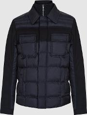 Barrett Quilted Jacket With Contrast Sleeves