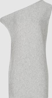 Becca Asymmetric Knitted Tank Top