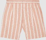 Billy Striped Casual Shorts