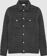Blake Quilted Cotton Blend Jacket