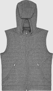 Boxley Detachable Hooded Quilted Gilet
