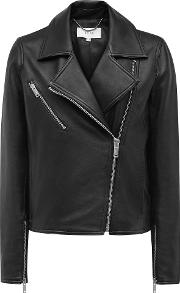 Brewer Leather Biker Jacket