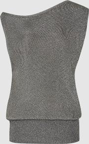Brigette Draped Knitted Tank Top