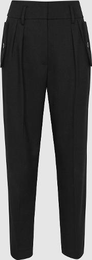 Brooklyn Pocket Front Tapered Trousers