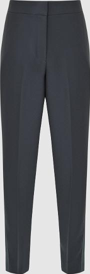 Cleo Tailored Crepe Trousers