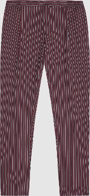 Dam Striped Casual Trousers