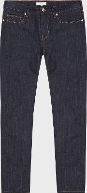 Dean Raw Denim Slim Fit Jeans