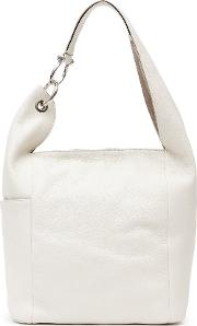 Edie Tumbled Leather Tote In  Womens