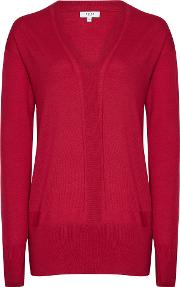 Elle Merino V Neck Jumper