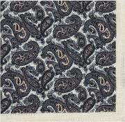 Ford Wool Paisley Pocket Square