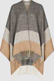 Gia Colour Block Poncho