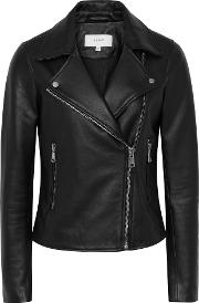 Gia Leather Biker Jacket