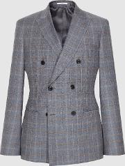 Glover Wool Double Breasted Blazer