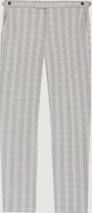 Gould Checked Tailored Trousers