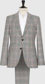 Grand Wool Checked Two Piece Suit