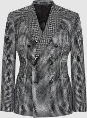 Grange Double Breasted Houndstooth Blazer