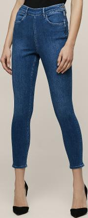 Hedy Mid  Cropped Jeans In  Womens