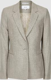 Hettie Jacket Wool Blend Tailored Blazer