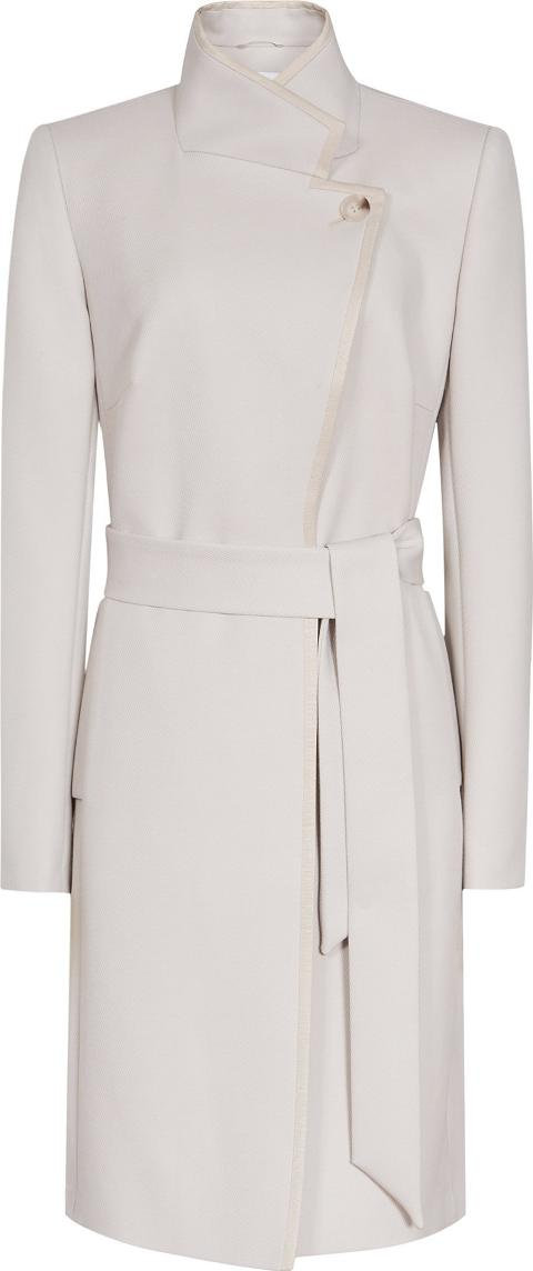 Hetty Belted Wrap Front Coat