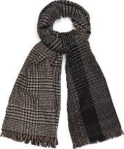 Holmfield Wool Checked Scarf
