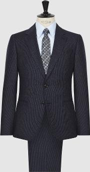 Hugo Single Breasted Pinstripe Suit
