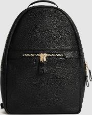 Huntington Textured Leather Backpack
