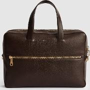 Isaac Leather Laptop Carrier
