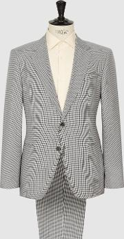 Ivy Single Breasted Check Suit