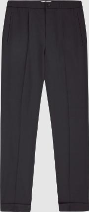 Japane Pleat Front Trousers