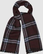 Jess Houndstooth Checked Scarf