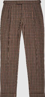 Jig Check Trousers
