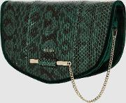 Langley Snake Snake Skin Cross Body Bag