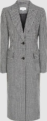 Lara Puppytooth Overcoat