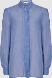 Liddy Ruffle Detailed Shirt