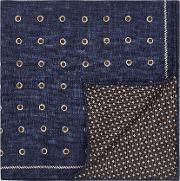 Lima Silk Double Sided Pocket Square