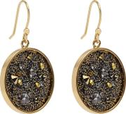 Marcey Earrings With Crystals From Swarovski In Yellow, Womens