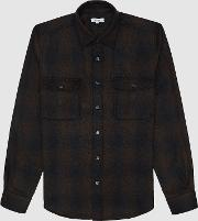 Marty Twin Pocket Checked Overshirt