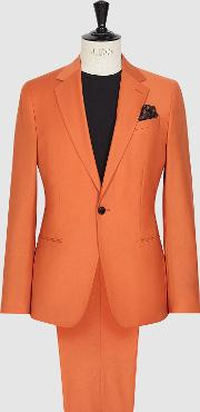 Mask Wool Single Breasted Suit