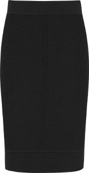 Melina Textured Knitted Pencil Skirt