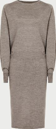 Mitzy Knitted Batwing Dress