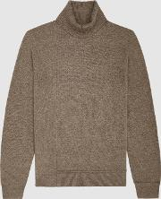 Monty Wool Cashmere Blend Rollneck Jumper