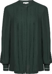 Nicole Pleat Front Blouse