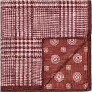 Owen Double Sided Silk Pocket Square