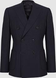 Pensylvania Wool Double Breasted Blazer