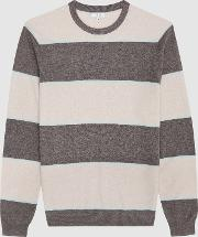 Pete Striped Crew Neck Jumper