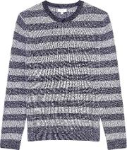 Peter Striped Crew Neck Jumper